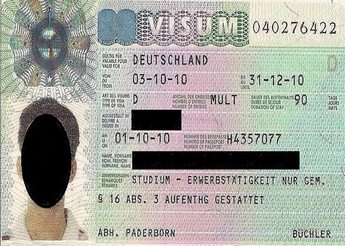 ویزای ملی
