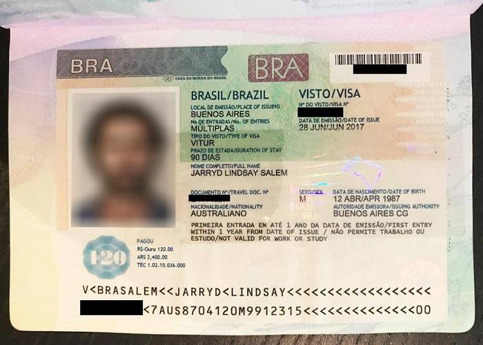 ویزا برزیل و تعیین وقت سفارت