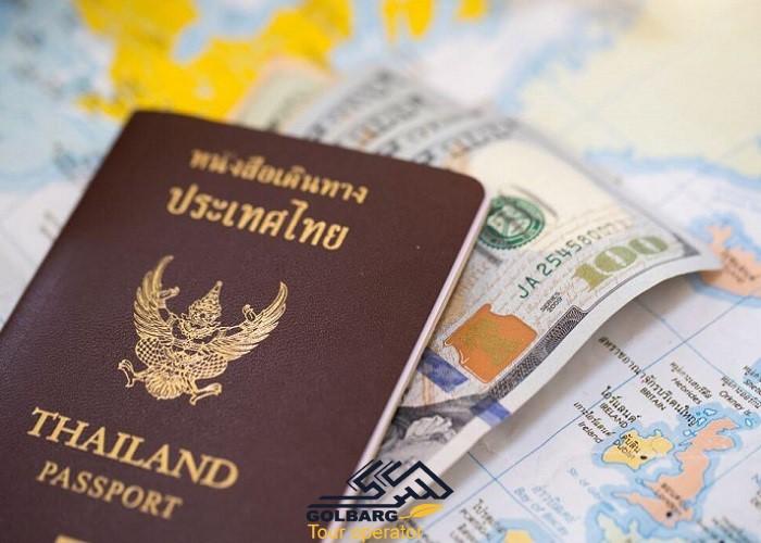 انواع ویزا تایلند و هزینه های آن