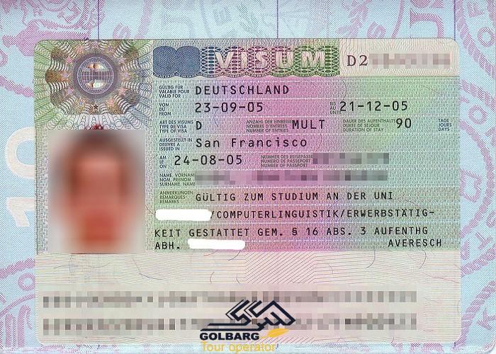 ویزا آلمان و تعیین وقت سفارت