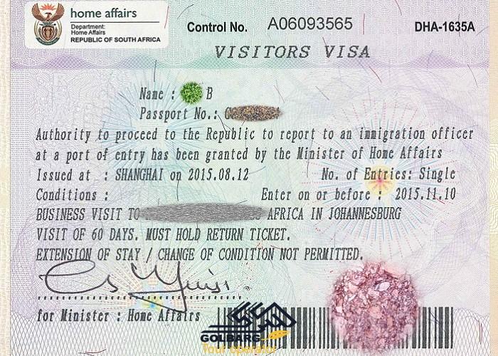 ویزا آفریقا و تعیین وقت سفارت