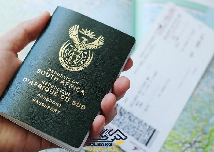 انواع ویزا آفریقا جنوبی