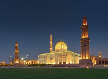 مسجد جامع سلطان قابوس در عمان