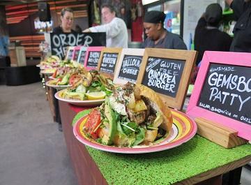 بازارهای محلی کیپ تاون در آفریقای جنوبی