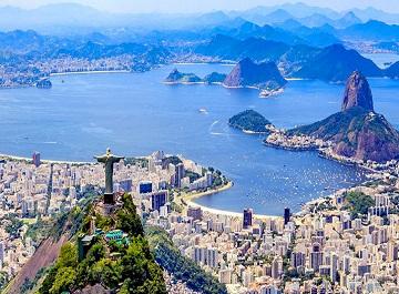 شهر زیبای ریودوژانیرو در برزیل