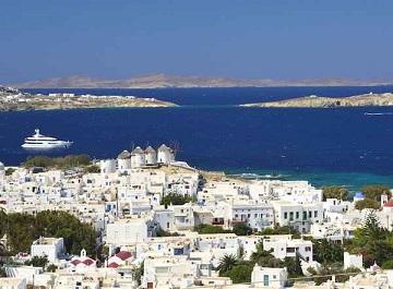 سفر به جزیره میکونوس یونان