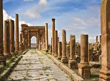 شهر باستانی تیمگاد یادگاری از روم باستان در آفریقا