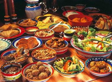 فرهنگ غذایی در آفریقا