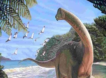 گورستان دایناسورها در آفریقای جنوبی