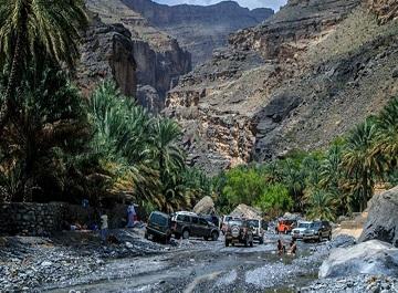 جاذبه ها و مسیرهای طبیعی شگفت انگیز عمان