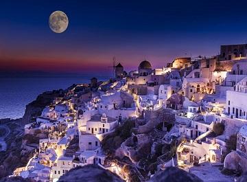 جزیره سانتورینی مشهورترین جزیره یونان