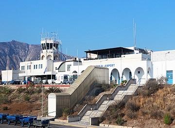 فرودگاه سانتورینی یونان