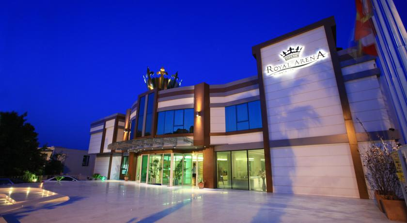 هتل royal arena bodrum